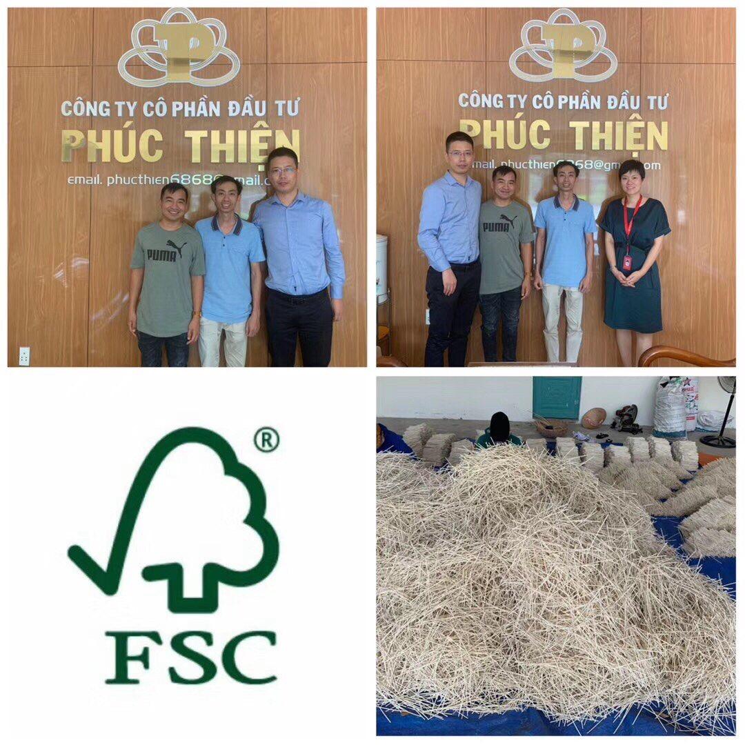 恭喜越南本地工厂XXX CO., LTD获得FSC-COC认证
